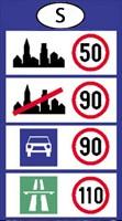 svédország sebesség határok